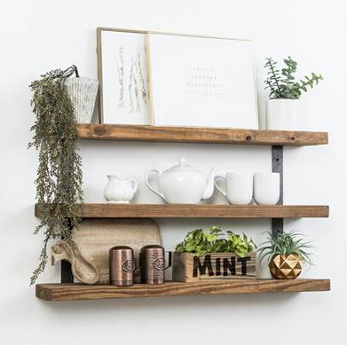 Bourbon Bar Shelves