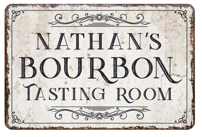 Bourbon Bar Sign