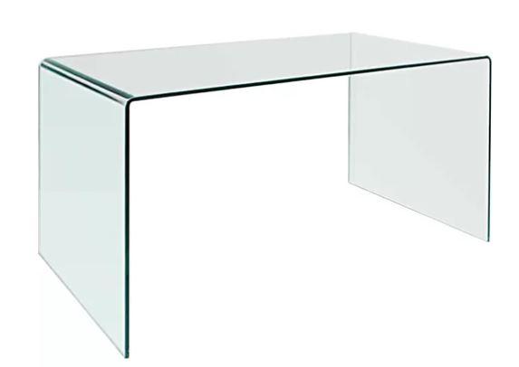 Mitzi Glass Desk Shell