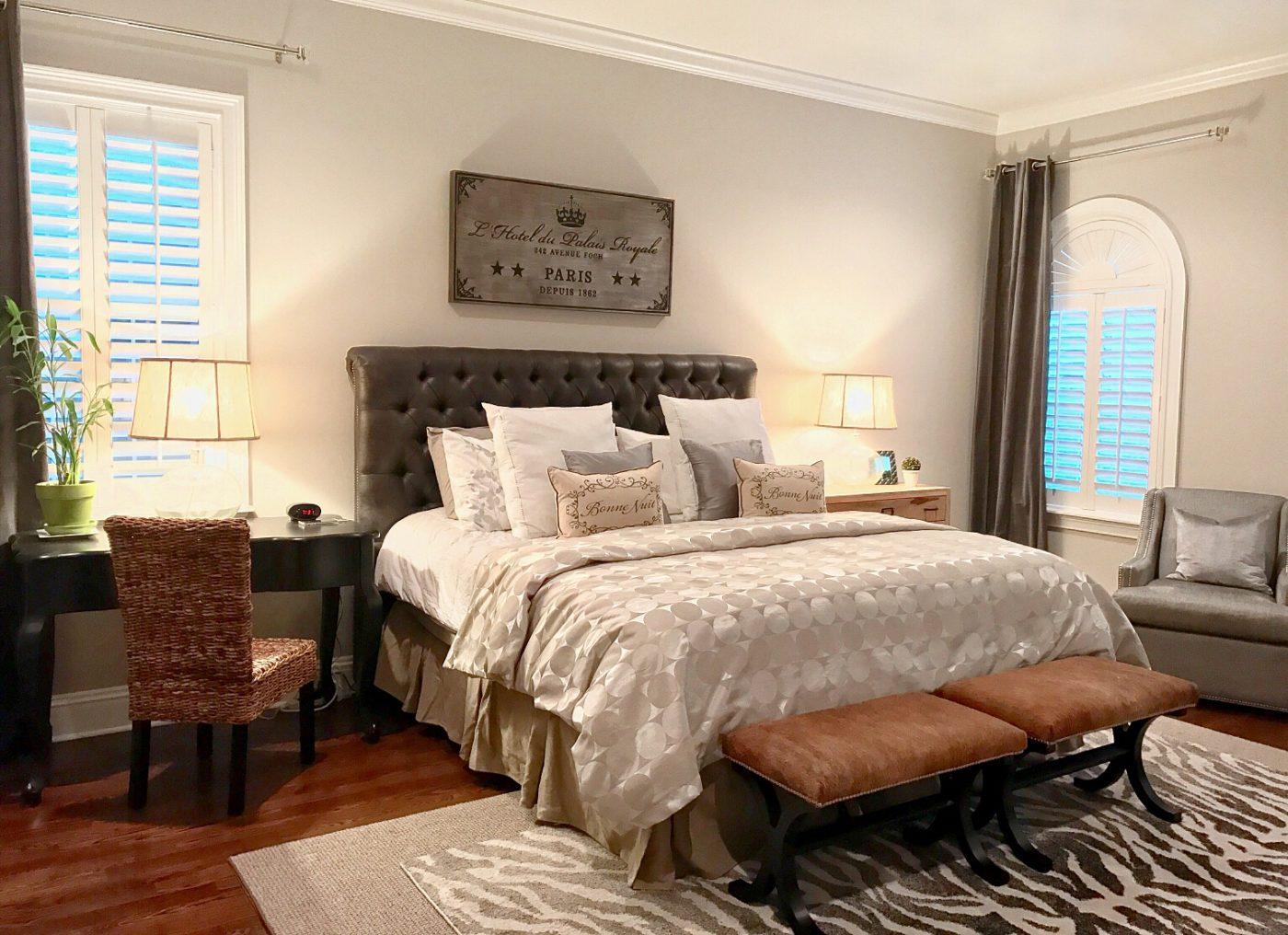 Finished Master Bedroom