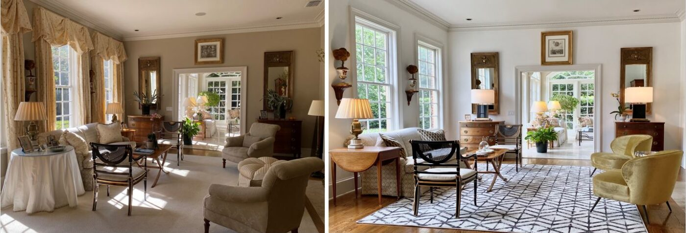 Modernize Your Space - Before and After